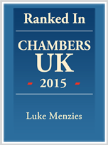 Ranked in Chambers UK 2013 Leading Individual